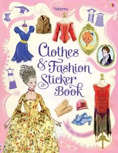 Show details for Clothes and Fashion Sticker Book