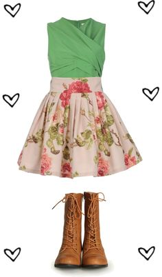 """""""Untitled #145"""" by ak7kitty ❤ liked on Polyvore love the outfit but minus the boots"""