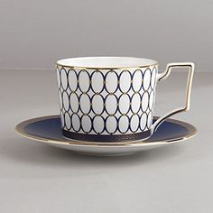 "Wedgwood ""Renaissance Gold"" Tea Cup"