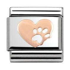Awesome Buy Nomination CLASSIC Rose Gold Heart Footprint Charm for just added. Nomination Charms, Nomination Bracelet, Valentine Day Gifts, Valentines, Christmas 2019, Wedding Jewelry, Gold Heart, Best Gifts, Rose Gold