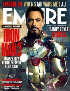 #IronMan3 Cover Empire 02