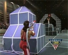 Say what you will about American Gladiators. a campy display of athletic prowess born in the decade of excess; a goofy, over-the-top game show laced with spandex and Assault Course, American Gladiators, Favorite Tv Shows, Movie Tv, Battle, Childhood, Lol, Memories, Retro