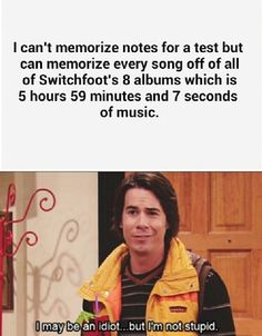 Switchfoot AND iCarly!!! Crucial parts of my life here, people!!!