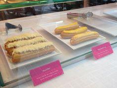En esta churrería se han atrevido a innovar en el mundo de los churros: churros rellenos de mermeladas, churros salados... todos buenísimos! Es Comaxurros, en Barcelona