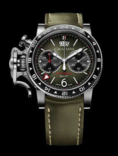 TimeZone : Industry News » N E W M o d e l - Graham Chronofighter Vintage GMT