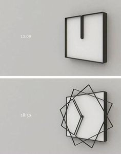 A design thats always changing! A clock!