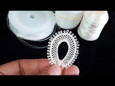 & DESIGN Making a leaf model on a fishing line& needle embroidery leaf model # sheets, Needle Lace, Bobbin Lace, Crochet Pants, Hand Embroidery Art, Fishing Line, Tatting Lace, Lace Making, Lace Design, Irish Crochet