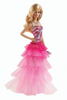 Barbie Pink & Fabulous Ruffle Gown