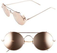 Women's Linda Farrow 51Mm Oval Sunglasses - Rose Gold https://uk.pinterest.com/925jewelry1/women-sunglasses/pins/