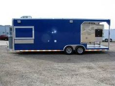 26' Custom Built Concession BBQ Smoker Trailer.This trailer Is Built For The…