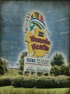Pensacola Beach every summer in the 60's