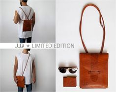 Camel brown leather purse - muti-way leather bag - women bags SALE - crossbody purse - leather shoulder bag - leather backpack - hand purse by JUDtlv on Etsy https://www.etsy.com/listing/197747446/camel-brown-leather-purse-muti-way