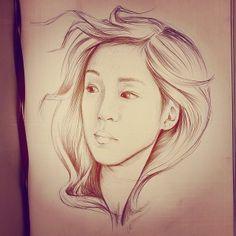 Draw My Selfie: reverywhere.com/selfie  #sketch #portrait #drawing #illustration #penonpaper #ballpointpen #pen #penart #ink #ballpoint #beauty #goddess #muse #freehand #art #artstagram #instaart #doodle #curles #waves #imagination #offself #drawme #selfie #me #portrait #selfieoftheday #iphonasia #iphonagraphy #instagood #artist #instaartist