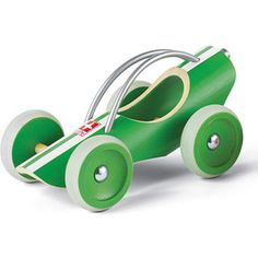 $19.99 - The E-Racer will delight Mother Nature and any child who likes vehicles. r• The streamlined design features bamboo as its raw material.r• It has a sporty look, for sure!r• Detailed with water-based paint.r• DIMENSIONS: 8.97 X 5.27 X 5.27 Vroom…Vroom. See all our fascinating cars right here!
