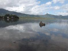 Case Noyale seen from Les Salines Pilot - west coast of Mauritius