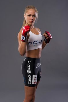 A picture of Ronda Rousey. This site is a community effort to recognize the hard work of female athletes, fitness models, and bodybuilders. Female Mma Fighters, Female Fighter, Ronda Rousey, Rowdy Ronda, Ufc Women, Celebrity Workout, Tough Girl, Role Models, Martial