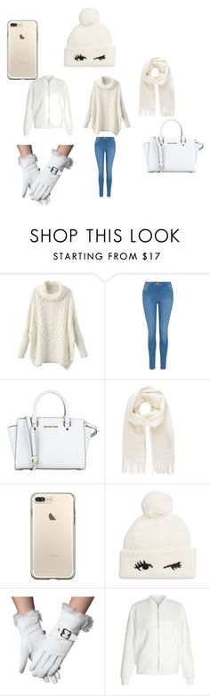 """wintery day"" by nataliecenteno65 on Polyvore featuring George, MICHAEL Michael Kors, Vivienne Westwood, Kate Spade and New Look"