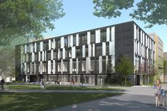 Neuberger Hall, Portland State University — Hacker