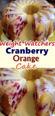 Here is something different to whip up. I'm thinking Easter would be nice. Nice flavors of cranberries and oranges... Don't forget to Pin this so it will be SAVED to your timeline! #orangecake #Skinnyrecipes #skinny #weightwatchers #delicious #weight_watchers #desserts #food #skinnydesserts #cranberry #smartpoints #WWrecipes #healthyrecipes #cranberryorangecake #recipes #kidsfood #cake #homemade #lowcarb #ketorecipes #healthy #healthyeating #orange_cake #tasty #dessert #WW #keto…