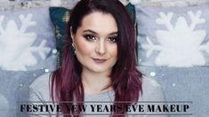FESTIVE NEW YEAR'S EVE MAKEUP    Maria Dumitrescu New Years Eve Makeup, Festive, Youtube, Youtubers, Youtube Movies