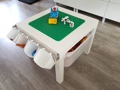 #Duplo #playtable for #myson 🛠…