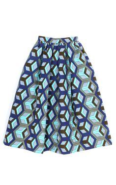 Stella Jean Sauda Skirt