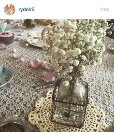 Rydel's tea party