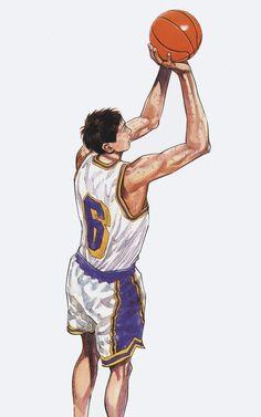 New Basket Ball Drawings Anime Ideas Ball Drawing, Guy Drawing, Drawing Ideas, Basketball Art, Love And Basketball, Delta Art, Slam Dunk Anime, Inoue Takehiko, Nba Wallpapers