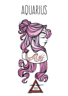 Items similar to Aquarius goddess postcard, Astrology, Star signs on Etsy – Astrologie Aquarius Woman, Zodiac Signs Aquarius, Zodiac Art, Gemini, Aquarius Astrology, Art Zodiaque, Zodiac Characters, Astrology Stars, Tattoo Und Piercing