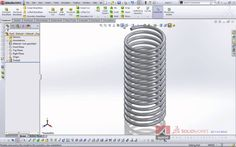 Variable Spring in SolidWorks