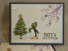 Winter Critter's from Doodle Pantry....set of cards. Patti's Paper Creations