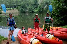 Témoignages de nos clients qui ont fait le choix des cours d'anglais en immersion. Sortie canoë pour les enfants dans le Tarn et Garonne!
