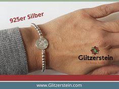 Armband Echtsilber Armband Diy, Diy Schmuck, Bracelets, Men, Jewelry, Fashion, Glass Beads, Chain, Moda