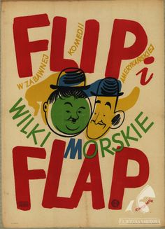 Flip i Flap wilki morskie Autor: Henryk Tomaszewski Poster Making, Illustration, Polish Posters, Polish Poster, Art, Film Posters, Poster Design, Comic Book Cover, Vintage Illustration
