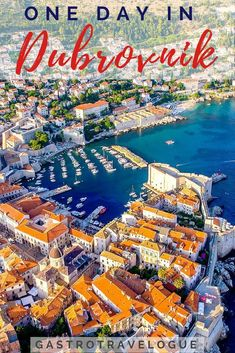 How to make the most of Dubrovnik, Croatia in a day - #sightseeing | #Dubrovnik |#Croatia | Travel Blog | #travel | destination guide | #Balkans