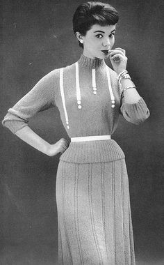 1950's fashion <3
