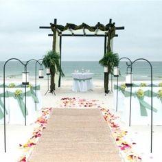 Beach Wedding Decor and Decorations | Gulf Shores Weddings on the Beach