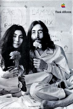 #Apple #Think #Different #Yoko #Lennon