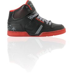 Osiris NYC 83 Black   Red Faisst High Top Shoe Hightop Shoes a2d5f6374c0