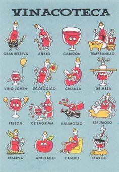 Muy divertida XD RT @Puy Trigueros: una clasificación de vinos muy seria jajajaja ¡Mola!