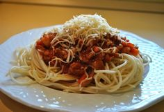 Bolognai spagetti Sabah konyhájából