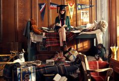 The Terrier and Lobster: Chloe Goes to College: Tommy Hilfiger Fall 2013 at Princeton with Models and Princeton Professors and Students by C...