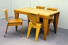 Marcel Breuer table & chairs