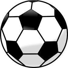 Soccer ball template