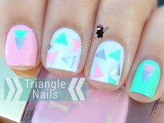 Nail Hack: Triangle Nail Stickers