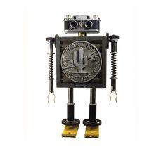 Robots Sculptures by Gordon Bennett