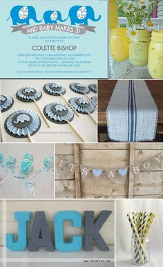 burlap shower themes | Baby Showers With Style to Spare | The Etsy Blog