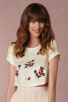 Going away outfit shirt - Tulley Top from @BHLDN