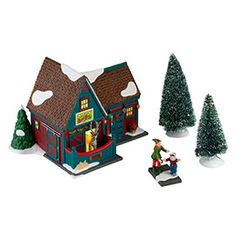 """Department 56: COLLECTING - """"Santa's Reindeer Petting Stable"""" - New Introductions"""
