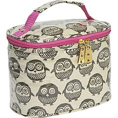 gogogear Cosmetic Case - Chocolate Owls $32